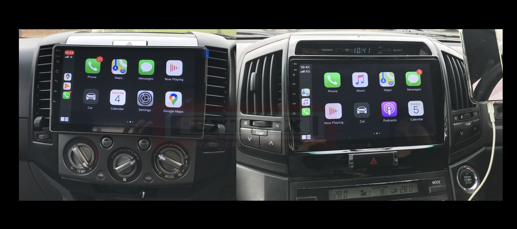 In-Car Infotainment Systems